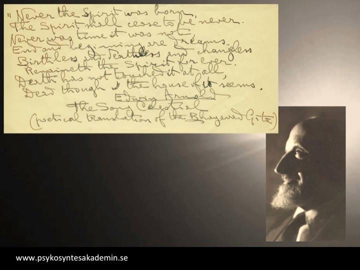 Psykosyntes - In memoriam of Massimo Rosselli