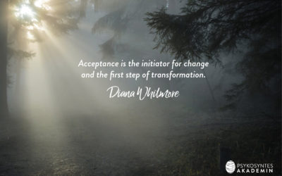 Acceptance is the initiator for change