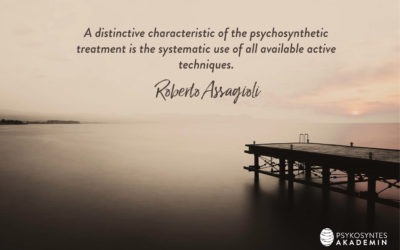 A distinctive characteristic of the psychosynthetic treatment