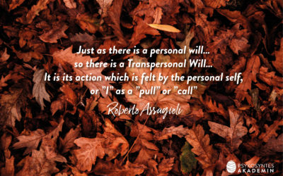 Just as there is a personal will…
