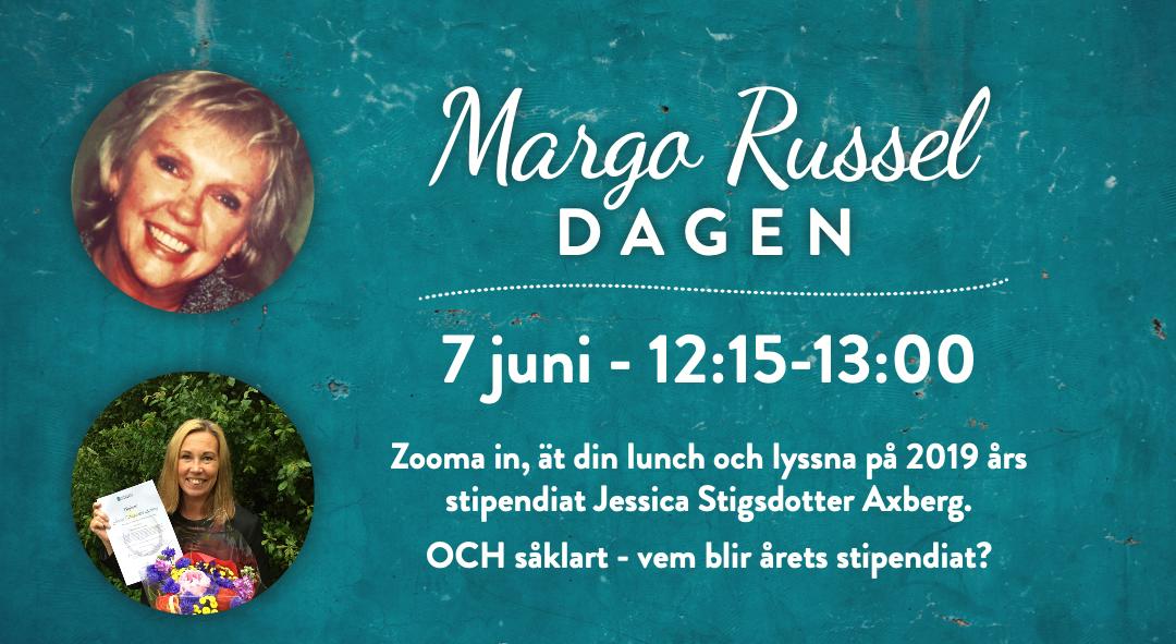 Vem vill du nominera till årets Margo Russel-stipendium?